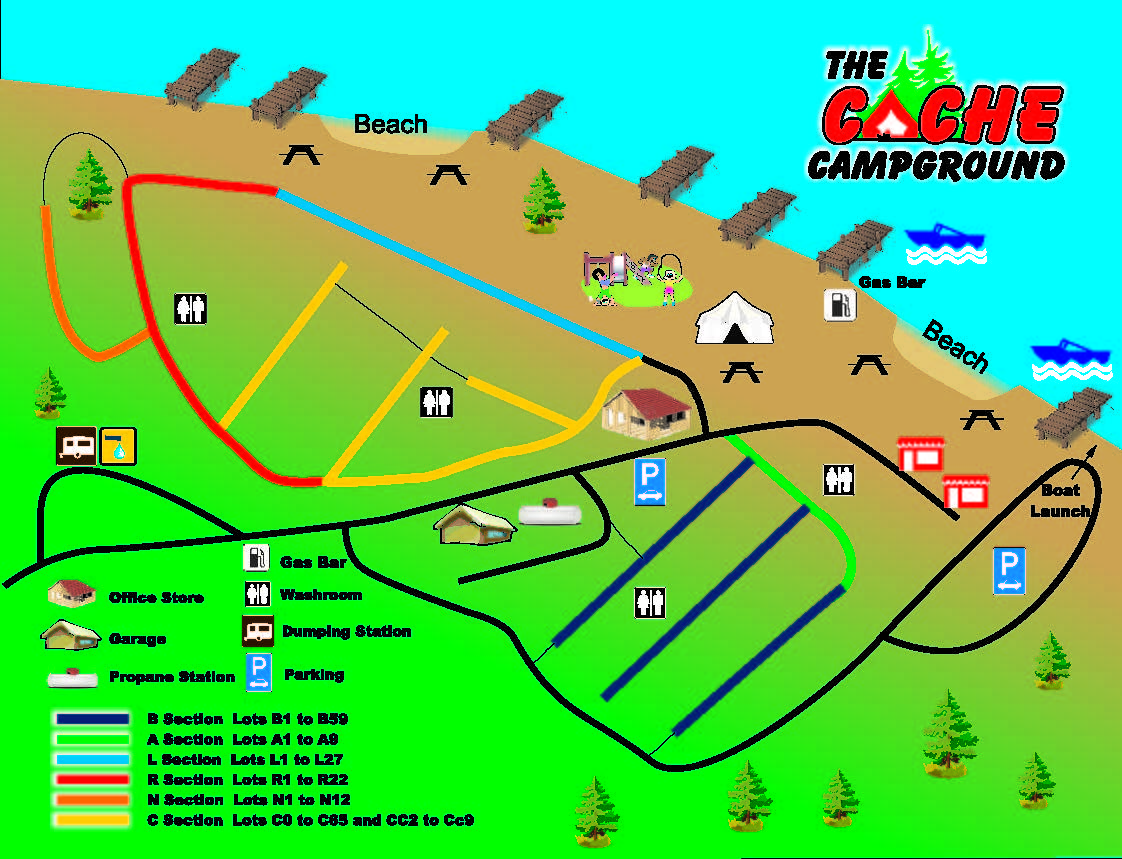 Campground Cache Campground Camping In Timmins - Us-camping-map